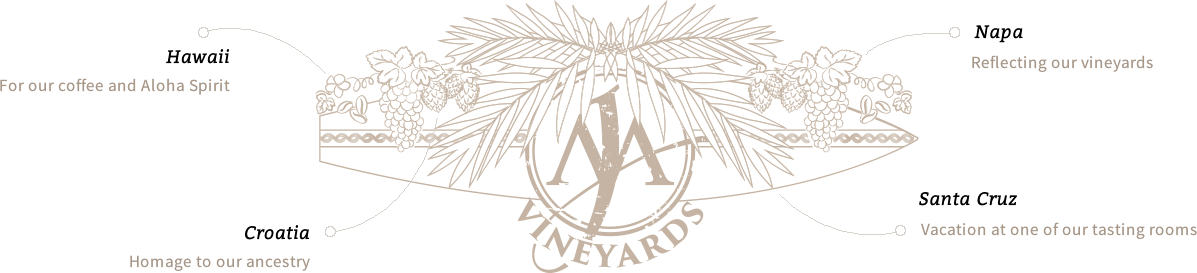 MJA Vineyards Logo - Black